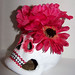 In the Pink Sugar Skull - Artwork by Kimberly Palencia