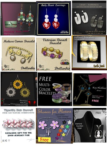 jewelry fair freebies & dollarbies
