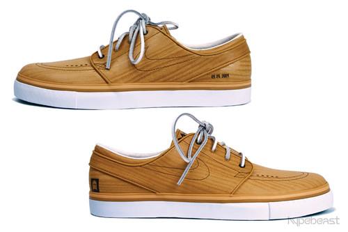 Nike SB wood