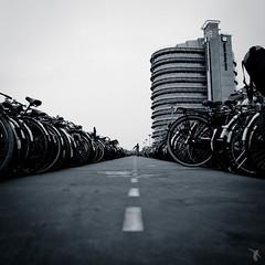 - parc à vélo - (FRJ photography) Tags: bw white black holland building netherlands amsterdam bike bicycle architecture nb bas et paysbas pays blanc bâtiment vélo immeuble noire hollande