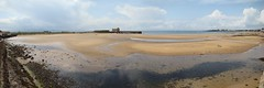 panorama d'Elie (astroJR) Tags: uk greatbritain panorama beach port scotland landscapes unitedkingdom harbour gimp gb uni pandora plage elie ecosse grandebretagne royaume scotlandslandscapes