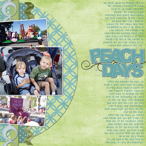 Peach Days 1 (Evan)