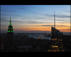 New York ....   another good bye (Dreamer7112) Tags: nyc newyorkcity sunset sky urban ny newyork silhouette gabi skyline architecture backlight skyscraper newjersey nikon skyscrapers dusk manhattan silhouettes rockefellercenter midtown esb bankofamerica newyorkskyline manhattanskyline hudsonriver empirestatebuilding hudson backlit gabriela urbanjungle iconic topoftherock nightfall iny eveninglight atdusk bofa gensler d300 bankofamericatower novaiorque goldmansachstower onebryantpark cookfox cookfoxarchitects bofatower  nikond300  clipcook