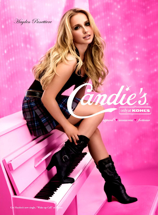 hayden panettiere photo shoot. Candies Photoshoot