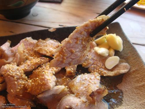 烤豬肉定食