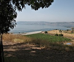 Sea of Galilee from the Mount of Beatitudes (James Emery)