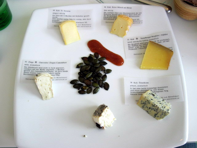 Austrian Cheese Sampler
