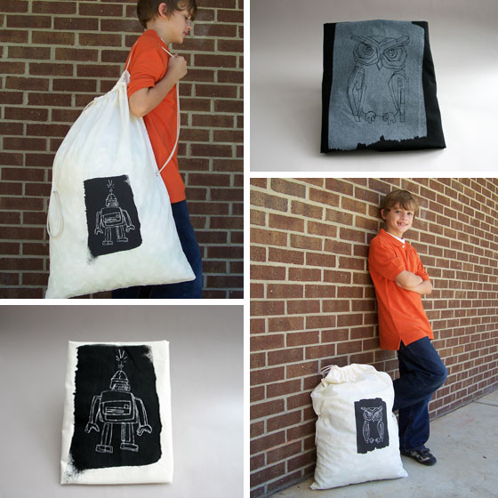 Grant Design: Trick or Treat Bag