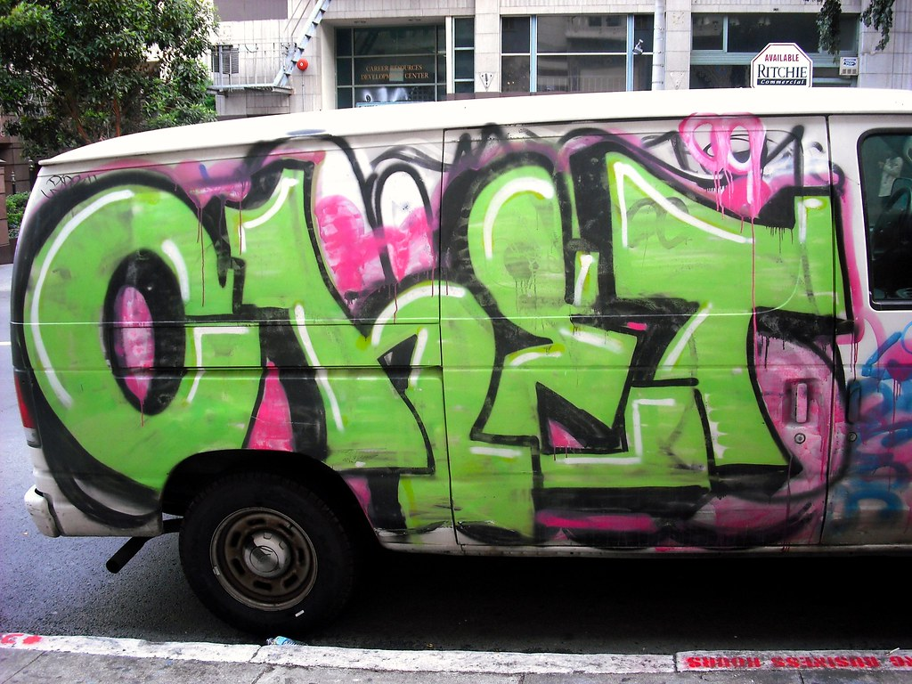 Chet Graffiti Van - San Francsico, California 2009.