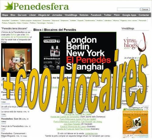 +600 blocaires a la Penedesfera