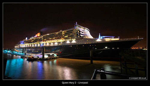 Queen Mary 2, Visits Liverpool