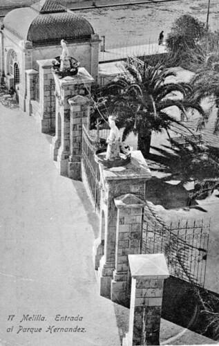 Fotos antiguas del Parque Hernández