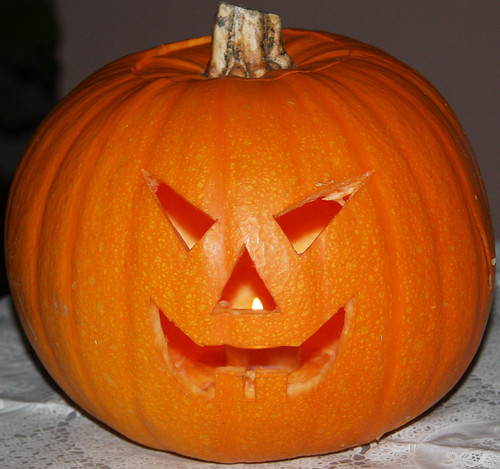 Carved Pumpkin 2009