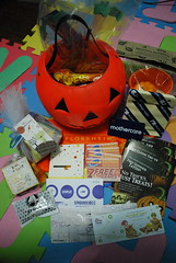 All treats! I love the GCs from Gymboree and The Picture Company.