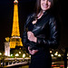 Night Street Photoshoot in Paris - Catherine Smith