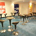 Bombo Stool Anthracite, Bombo Table Anthracite - Furniture Hire - Millennium Stadium, Cardiff