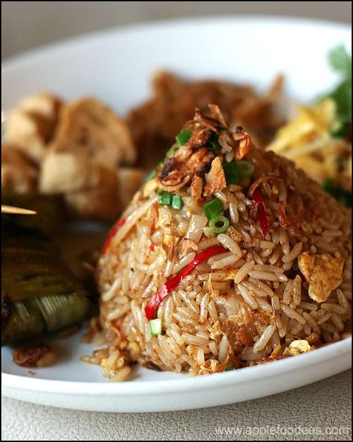 Nyonya Food-Fried Rice