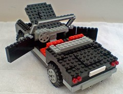 Lego Sports Car Rear