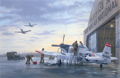 Runway Alert: Foundation of the Total Force by Gil Cohen (The National Guard) Tags: usa heritage america army us unitedstates military air unitedstatesofamerica paintings guard national nationalguard historical series airforce
