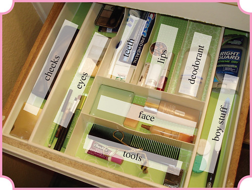 Make-up Drawer - Labels