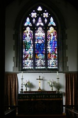 East window - Churchover