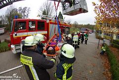 Großübung Schulzentrum Eltville 14.11.09