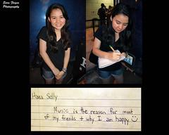 Hana (Sara Feigin) Tags: friend friendship hana musictome meaningofmusic