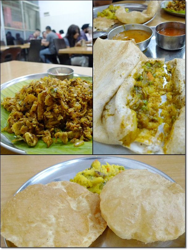 Masala Thosai, Poori, Mutton Kothu Parota