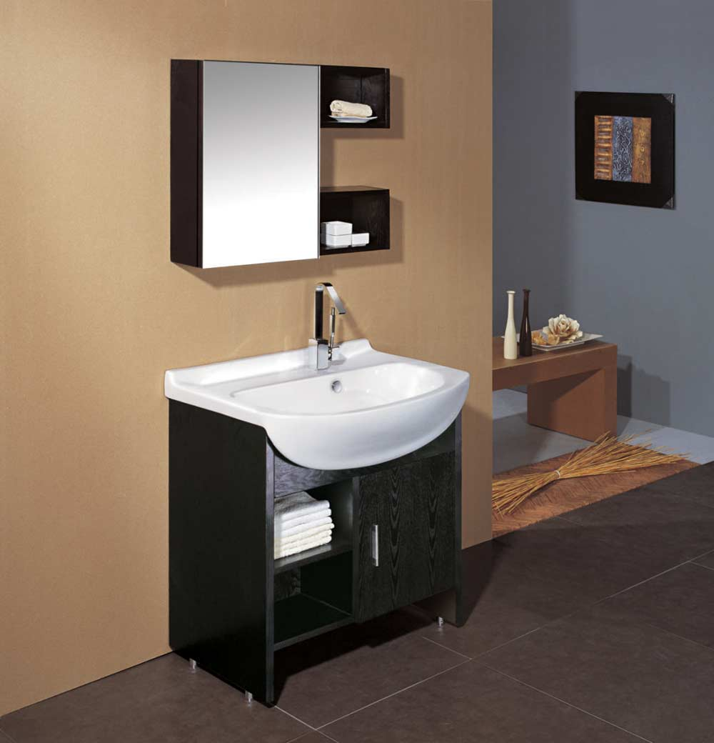 Modern Bathroom Vanities with Lovely Shape Combination