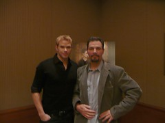 "me and Kellan Lutz from ""Twilight"" (djtomdog) Tags: twilight newmoon tvjunkie kellanlutz emmettcullen thomasattilalewis"