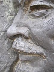 Close-Up of Comrade Lenin (BrotherMagneto) Tags: city lenin bronze europe hungary budapest relief communist communism soviet comrade europeanunion szoborpark statuepark mementopark