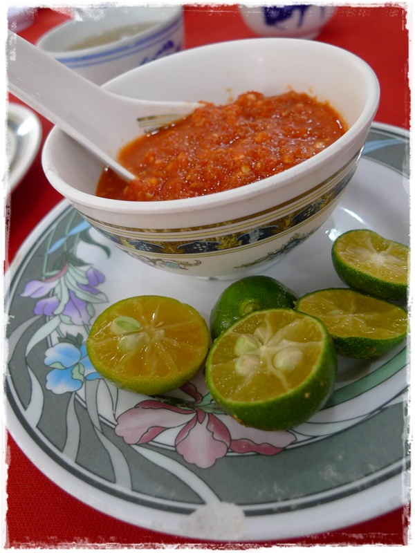 Chilly Sauce & Lime Juice