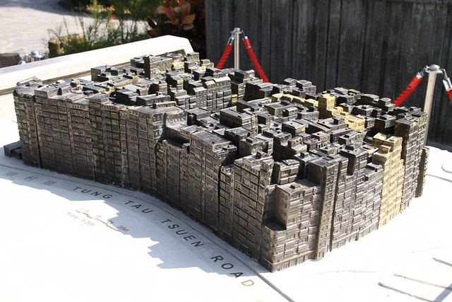 Model of Kowloon Walled City in 1992, just before demolition.