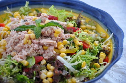 Ton Balıklı Karışık Salata