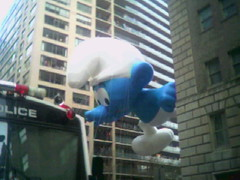 Macy's Thanksgiving Day Parade-Smurf