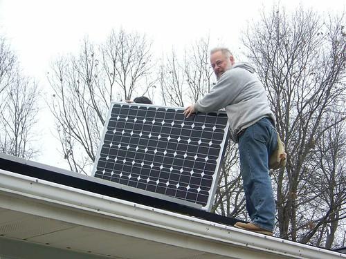 Solar panel last