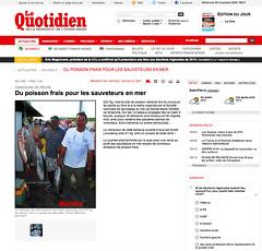 """Publication """"Quotidien"""" du 29 Novembre 2009"""