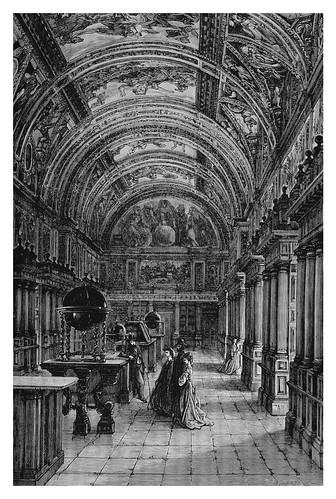 007-Biblioteca del Escorial-Spain (1881)- Doré Gustave