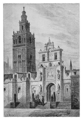 032-La Giralda de Sevilla-Spain (1881)- Doré Gustave