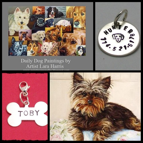 Custom Oil Painting & Pet Tags