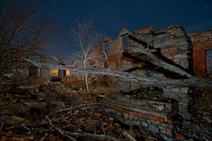 Ironic (Noel Kerns) Tags: ranch abandoned night george ruins texas jim keith falls wichita kenneth