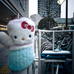 Kitty Chan Lost in the Tumble (jacob schere [in the 03 strategically planning]) Tags: cute japan square found lost tokyo hellokitty jacob communication glove lostandfound cuteness lucid mitten kittychan urayasu schere shinurayasu grii bsquare ハローキティ oneglove 新浦安 onemitten 忘れ物 jacobschere lucidcommunication