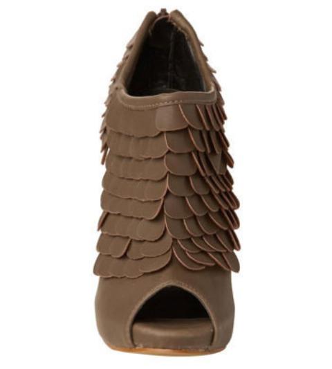 DIT idea leather scale heels 2
