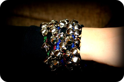 DIY Jingle Bells Bracelets