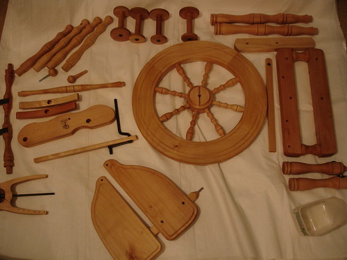 spinning wheel 1st oiling