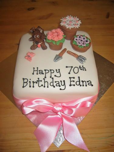 70th Birthday Cake Beautiful Birthday Cakes