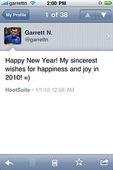 Tweetie iPhone app