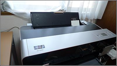 エプソン PX-5002で年賀状を印刷