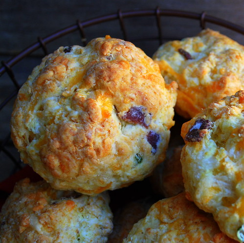 Cheddar Bacon Chive Biscuits CU3
