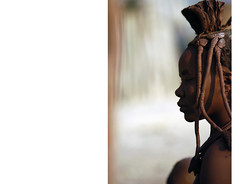 Portrait-Rep (antonella bozzini) Tags: africa donna costume african culture tribal safari afrika tribe ethnic namibia tribo himba afrique ethnology tribu namibie trib tribus ethnie antonellabozziniphoto